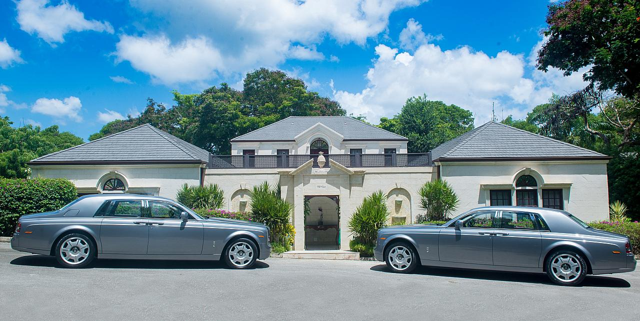 The Sandy Lane Hotel Villa Entrance